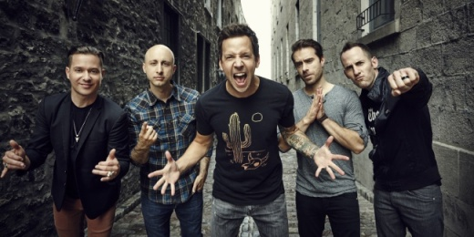 Simple Plan a Parkban<br><small><small><small>