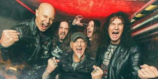 Accept - A heavy metal legenda Barba Negra Music Clubban<br><small><small><small>
