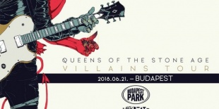 Queens of The Stone Age a Budapest Parkban<br><small><small><small>