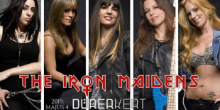 The Iron Maidens: Maiden tribute 2019-ben a Durerben