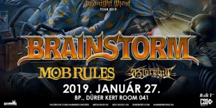 Brainstorm, Mob Rules, Gloryful a Durer Kert - Room 041 teremben