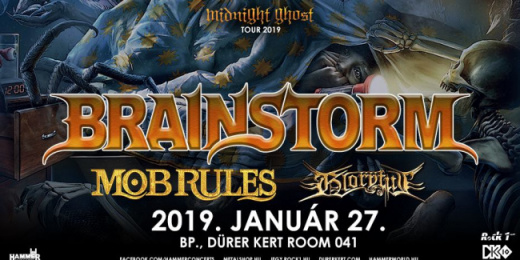 Brainstorm, Mob Rules, Gloryful a Durer Kert - Room 041 teremben<br><small><small><small>