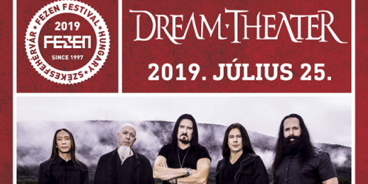 Dream Theater a FEZEN-en<br><small><small><small>