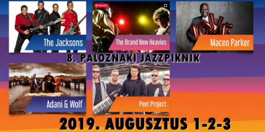 Paloznaki Jazzpiknik- The Jacksons; Maceo Parker; The Brand New Heavies, Adani&Wolf<br><small><small><small>