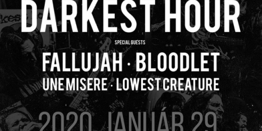 Darkest Hour: 25 Years Darkness koncert Budapesten<br><small><small><small>