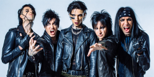 Black Veil Brides a Budapest Parkban<br><small><small><small>